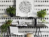 Peelable Wall Murals Moon Phases Removable Wallpaper Geometric Wall Mural Simple