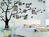 Peelable Wall Murals X Diy Family Tree Wall Art Stickers Removable Vinyl Black