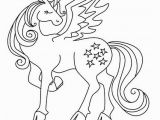Pegasus Unicorn Coloring Page Winged Unicorn