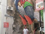 Penang Wall Mural Artist Geor Own Penang Street Art Amazing Pictures In Mayasia