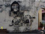 Penang Wall Mural Artist L Une Des Fresques En Métal Qui orne Penang Picture Of