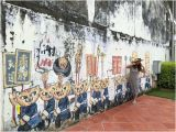 Penang Wall Mural Map Penang Street Arts Reviews George town Malaysia Skyscanner