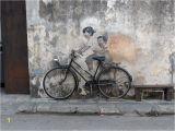 Penang Wall Mural Map the Street Art Of Penang Malaysia Emotional Traveler