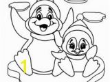 Penguin Coloring Pages Pdf Printable Coloring Pages Animal Penguins for Kids
