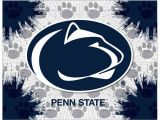 """Penn State Wall Mural Penn State Nittany Lions 24"""" X 32"""" Printed Canvas Art"""