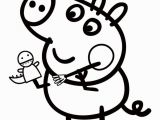 Peppa Pig Christmas Coloring Pages Color Pages Playing Peppa Pig Coloring Printable