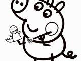 Peppa Pig Coloring Pages Printable Peppa Wutz Malvorlage Exzellente Ausmalbild Fr Kinder