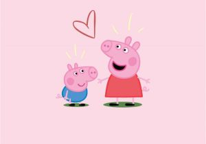 Peppa Pig Wall Mural Peppa Pig Wallpaper iPhone Wallpapers In 2019 Pinterest
