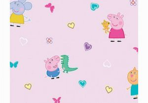 Peppa Pig Wall Mural Peppa Pig Wallpaper Wp4 Pep Pig 12 In 2019 Peppa Pig