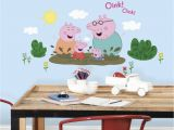 Peppa Pig Wall Mural Pin by Diamond Home On Wall Decals