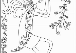 Percussion Coloring Pages Kokopelli Coloring Pages S Mac S Place to Be