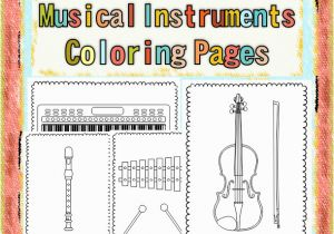 Percussion Coloring Pages Musical Instruments Coloring Pages