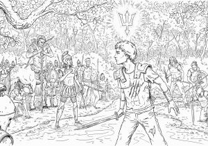Percy Jackson Coloring Pages New Percy Jackson Coloring Book and Give Away Coloring Book Percy Jackson