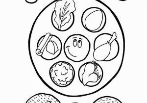 Pesach Coloring Pages This Coloring Page Has It All Four Cups Of Wine Three Pieces Of