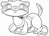 Pet Shop Coloring Pages Lps Ferret