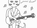Pete the Cat and His Four Groovy buttons Coloring Page Pet the Cat and His Four Groovy buttons Coloring Page