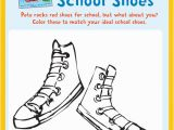 Pete the Cat Coloring Page Shoes Pete the Cat Rocking In My School Shoes Coloring Activity