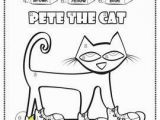 Pete the Cat Coloring Pages Pete the Cat Coloring Page Awesome Cat Printable Coloring Pages