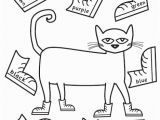 Pete the Cat Coloring Pages Pin by Becca Endicott On Pete the Cate Pinterest