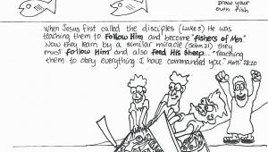 Peter and andrew Meet Jesus Coloring Page Jesus Calling His Disciples Coloring Pages Printable
