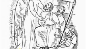 Peter and John In Jail Coloring Page Craft Paul and Silus In Prison Vbs athens Pinterest