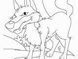 Peter and the Wolf Coloring Page Peter and the Wolf Coloring Pages Free Coloring Wolf Simple Wolf