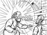 Peter Heals the Lame Man Coloring Page Coloring Pages Peter and John Heal A Lame Man