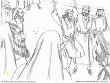 Peter Heals the Lame Man Coloring Page Coloring Picture Peter and John Healing Lame Man