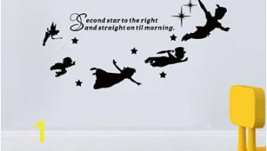 Peter Pan Shadow Wall Mural Peter Pan Wall Decal