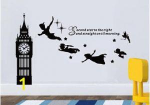 Peter Pan Wall Murals Peter Pan Wall Decal