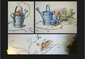 Peter Rabbit Wall Mural Beatrix Potter Murals for Child S Room Images