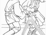 Phantom Menace Coloring Pages Jedi Knight Qui Gon Jinn Fighting A Duel with Darth Maul Coloring
