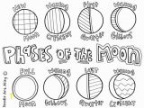 Phases Of the Moon Coloring Page Color Pages Marvelous Eclipse Coloring Pages Ideas