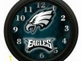 Philadelphia Eagles Wall Mural Philadelphia Eagles Football Wall Clock Home Room Decor Gift
