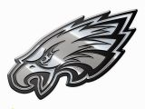 Philadelphia Eagles Wall Mural Philadelphia Eagles Heavy Duty Metal Auto Emblem [new] Nfl