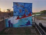 Philadelphia Mural Arts Wall Ball Leonrainbow