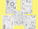 Philippians 4 4 Coloring Page Bible Verse Coloring Pages Set Of 5 Instant