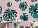 Photo Collage Wall Mural Tropical Jungle Leaf Pattern 1 Wall Mural Wallpaper Patterns