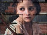 Photo Mural Maker Mural Art On the Side Of A 7 Storey Factory Building Of William