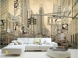 Photo Wall Mural City European Modern Grey City Building Architecture Sketch Wallpaper Mural Rolls for Living Room Wall Paper Decoration Celebrities Wallpapers Celebrity