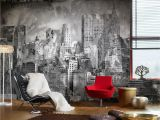 Photo Wall Mural City Graffiti City Probably the Most Iconic Graffit Wallpaper