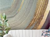 Photo Wall Mural Custom Stunning Gold Dust Grey Marble Wall Mural From Wallsauce