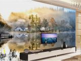 Photo Wall Murals Canada Luminous Wallpapers Custom Modern Landscape Wallpaper Murals Countryside Autumn 3d Wallpapers for Wall Canada 2019 From Yeyueman8888 Cad $31 01