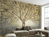 Photographic Wall Murals Home Decor Wall Papers 3d Embossed Tree Wall Painting Wall