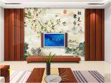 Photographic Wall Murals Uk Custom Size 3d Wallpaper Living Room Mural Flower Bird Landscape Chinese Paing 3d Mural Home Decor Creative Hotel Study Wall Paper 3 D Uk 2019