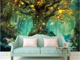 Photographic Wallpaper Murals Beautiful Dream 3d Wallpapers forest 3d Wallpaper Murals Home