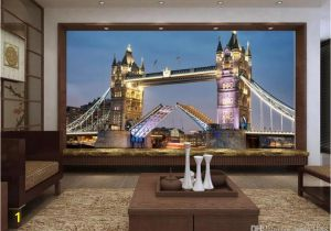 Photographic Wallpaper Murals Custom Size 3d Wallpaper Livingroom Mural European Style tower