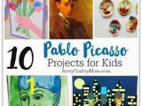 Picasso Cubism Coloring Pages 101 Best Art Appreciation for Kids Images On Pinterest