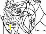 Picasso Cubism Coloring Pages 703 Best Crtezi Slike Images On Pinterest In 2018