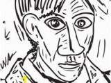Picasso Cubism Coloring Pages 88 Best Art Coloring Pages